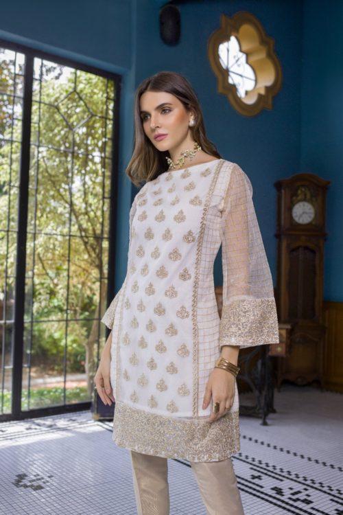 Pakistani Kurti Azure Luxury Formals Vol 5 Crystal Diva – LFD06