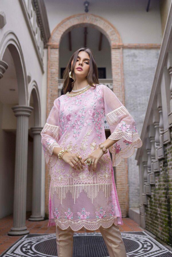 Pakistani Kurti Azure Luxury Formals Vol 5 Belle Rose – LFD07