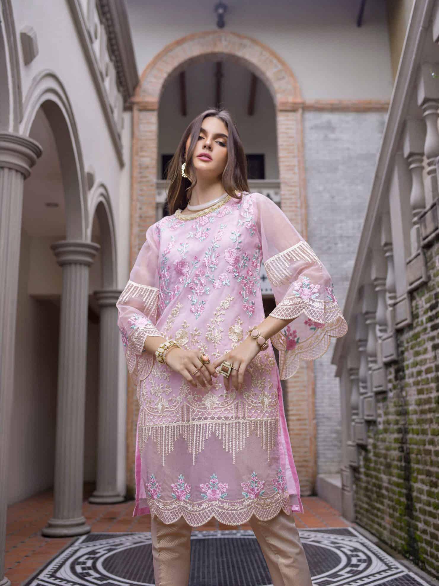 Pakistani Long Kurtis Online Shopping
