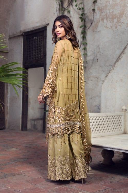 Zirkon by Zebtan ZQ – 01 Zirkon by Zebtan - Original Chiffon Dupatta Salwar Suit
