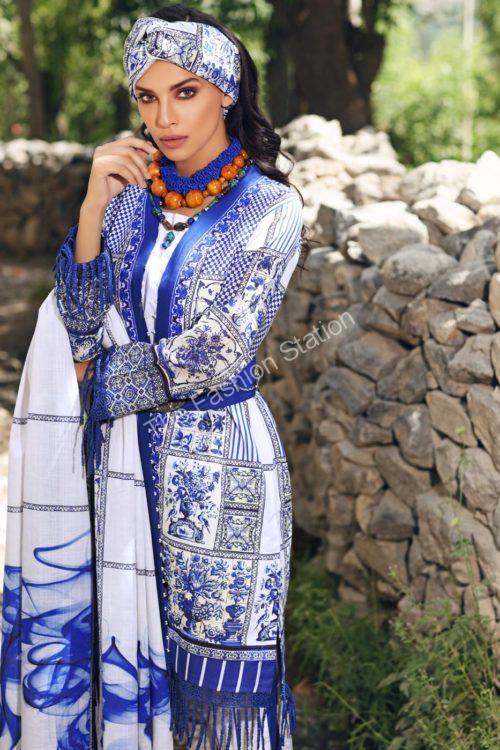 Uzbek Ensemble Winter Collection by Gul Ahmed K69