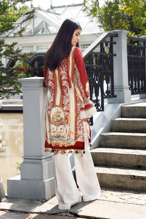 Pakistani Kurti from Firdous  |  Linen |  LK-19406 Linen Kurtis by Firdous - Original pakistani suits in mumbai