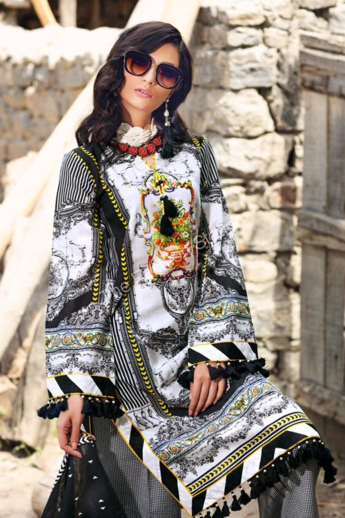 Uzbek Ensemble Winter Collection by Gul Ahmed K65