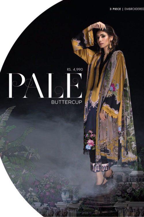 Sapphire Festive 2019 Pale Buttercup 3P WEM