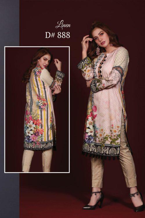 Sanoor Winter Collection - Original Pakistani Kurti | Sanoor  | Digital Printed pakistani suits