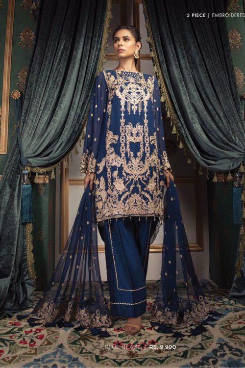 Sapphire Festive 2019 Blue Glaze 3P