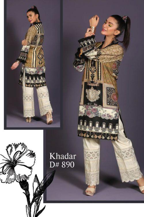 Pakistani Kurti   Sanoor    Digital Printed