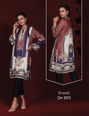 Pakistani Kurti | Sanoor  | Digital Printed Sanoor Winter Collection - Original Kurti Collection