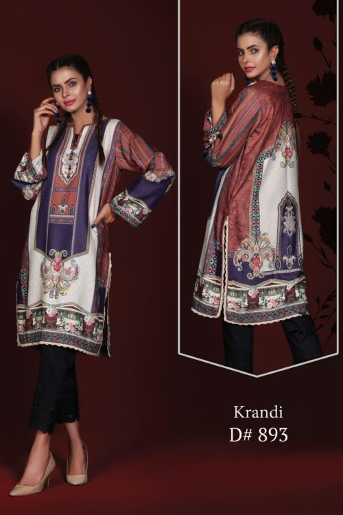 Sanoor Winter Collection - Original Pakistani Kurti | Sanoor  | Digital Printed pakistani suits