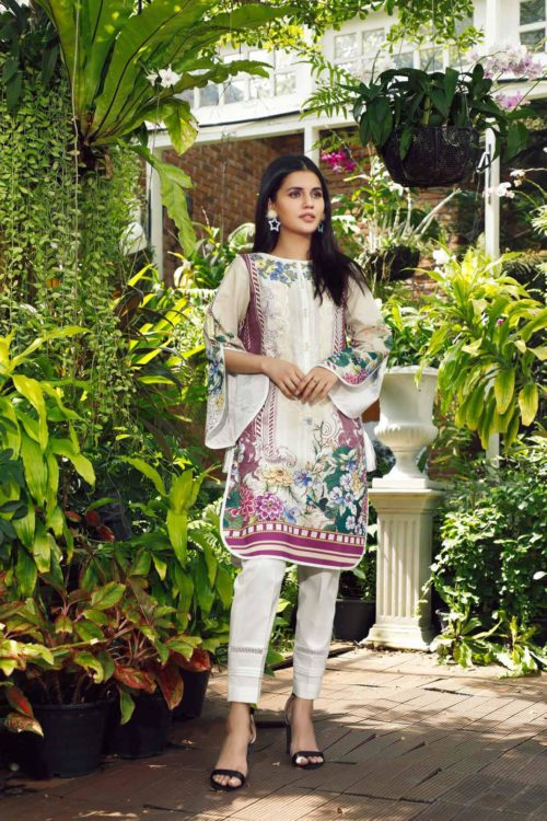 Pakistani Kurti from Firdous  |  Linen |  LK-19411 Linen Kurtis by Firdous - Original pakistani suits in mumbai