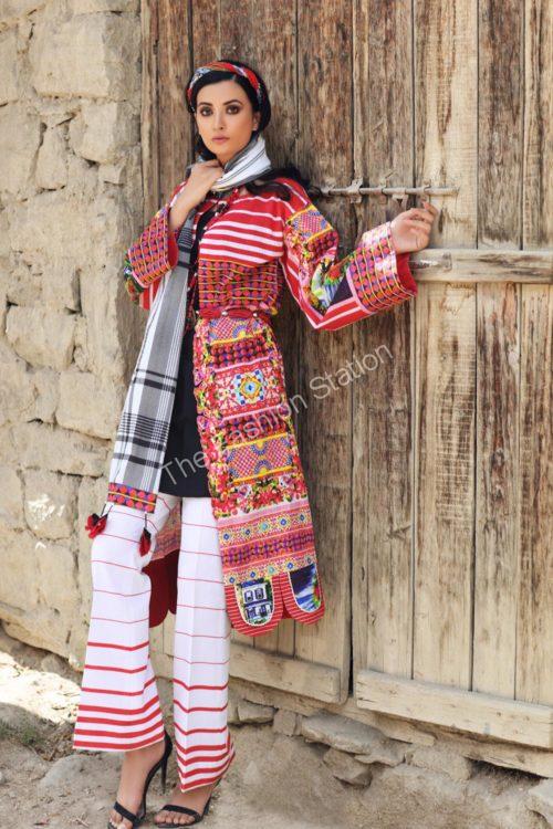 Uzbek Ensemble Winter Collection by Gul Ahmed K67