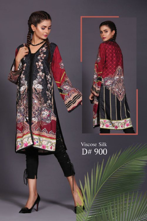 Pakistani Kurti | Sanoor  | Digital Printed