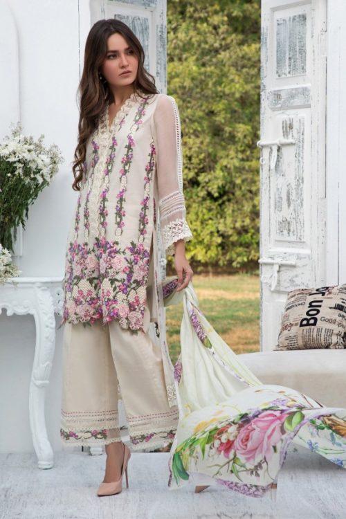 Firdous Luxury Chiffon LC 03 Firdous Luxury Chiffon - Original Ready to Ship - Original Pakistani Suits