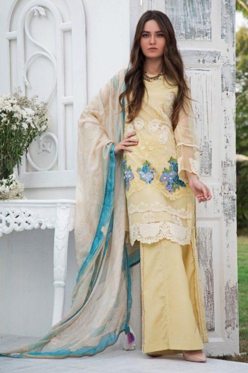 Firdous Luxury Chiffon LC 04 Firdous Luxury Chiffon - Original Ready to Ship - Original Pakistani Suits