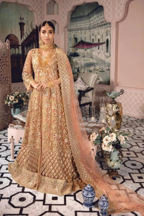 Freesia Chiffon Lehenga | Party Wear | Maryum N Maria