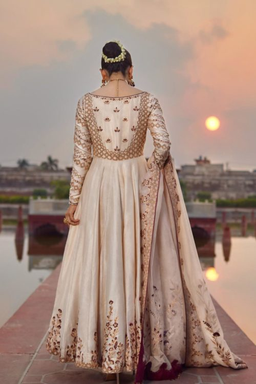 Raiza- Wedding Collection by Qalamkar – Saleena QF-08 Raiza- Wedding Collection by Qalamkar - Original Ready to Ship - Original Pakistani Suits