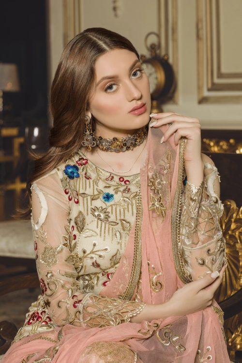 Luxury Chiffon by Emaan Adeel Vol 8 EA-810 Emaan Adeel Vol 8 - Original pakistani suits in delhi