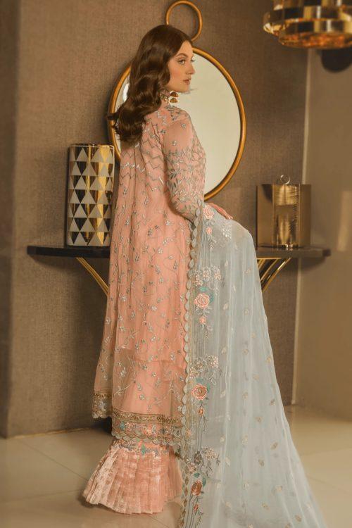 Luxury Chiffon by Emaan Adeel Vol 8 EA-803 Emaan Adeel Vol 8 - Original pakistani suits in delhi