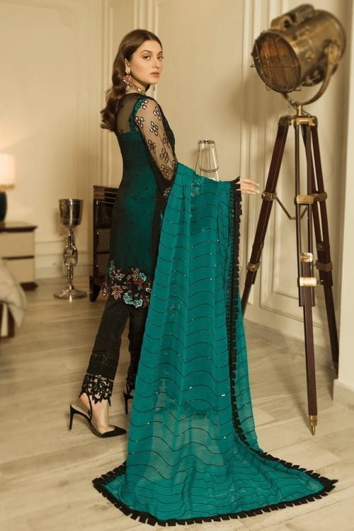 Luxury Chiffon by Emaan Adeel Vol 8 EA-804 Emaan Adeel Vol 8 - Original pakistani suits in delhi