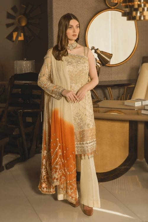 Luxury Chiffon by Emaan Adeel Vol 8 EA-801 Emaan Adeel Vol 8 - Original pakistani suits in delhi