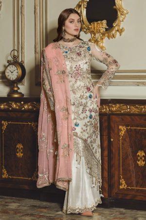 Luxury Chiffon by Emaan Adeel Vol 8 EA-810 *Best Sellers Restocked* Chiffon Dupatta Suits