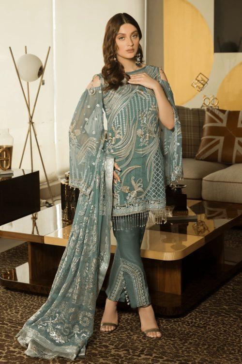 Luxury Chiffon by Emaan Adeel Vol 8 EA-806 Emaan Adeel Vol 8 - Original pakistani suits in delhi