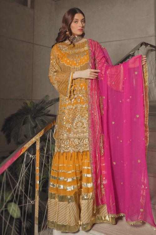 Luxury Chiffon by Emaan Adeel Vol 8 EA-809 Emaan Adeel Vol 8 - Original pakistani suits in delhi