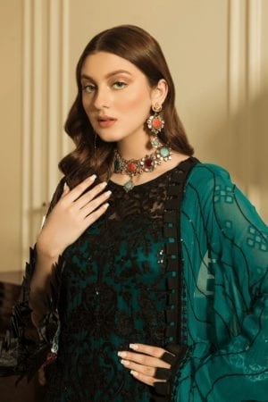 Luxury Chiffon by Emaan Adeel Vol 8 EA-804 *Best Sellers Restocked* Chiffon Dupatta Suits