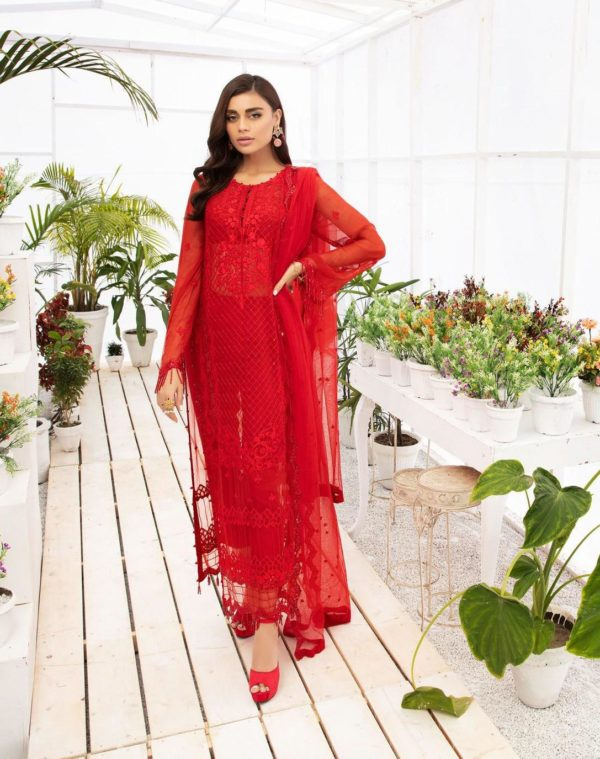 Micconi by Reemal Khan Premium Chiffon Design # 2 – RELISTED / RESTOCKED
