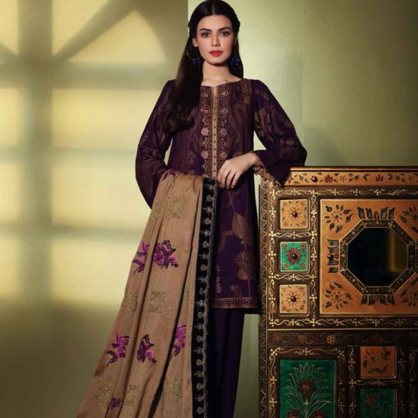 Embroidered Jacquard Salwar Kameez by Charizma CJ-08 RELISTED / RESTOCKED