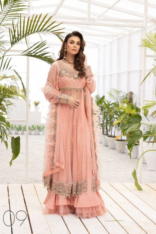 Micconi by Reemal Khan Premium Chiffon Design # 9  – RELISTED / RESTOCKED Best Sellers Restocked On Sale