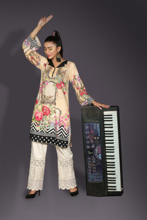 Ready to Ship Sanoor Winter Kurti Collection D-886 pakistani suits in delhi