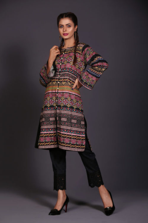 Ready to Ship Sanoor Winter Kurti Collection D-889 pakistani suits in delhi