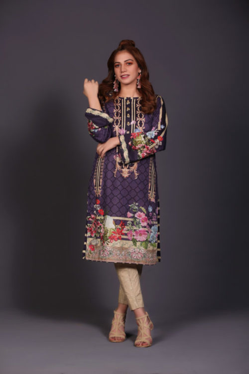 Ready to Ship Sanoor Winter Kurti Collection D-892 pakistani suits in delhi