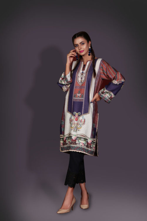 Ready to Ship Sanoor Winter Kurti Collection D-893 pakistani suits in delhi