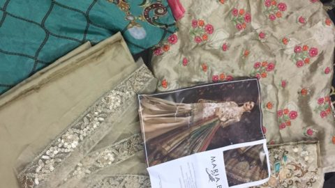 Open Pictures of MARIAB SILK – Salwar Suits – Pakistani Suits