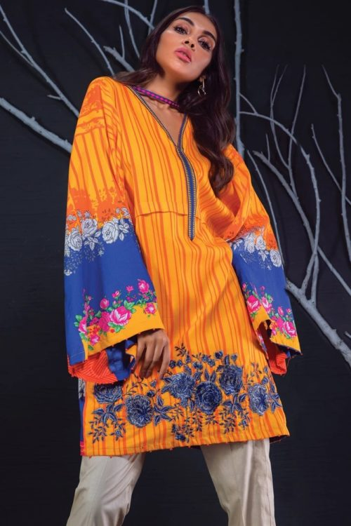 Orient Winter Collection Vol 2 - Original Orient Winter Collection Vol 2 OTL-19-154/A Salwar Suits Pakistani Suits for Winter