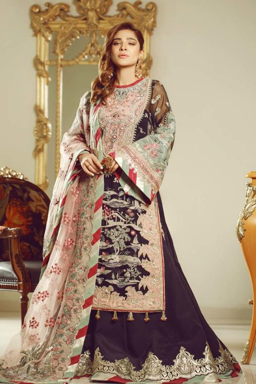 Wedding Collection by Maryam Hussain - Original Wedding Collection by Maryam Hussain Design Nur Party Wear Salwar Kameez and Salwar Suits in India