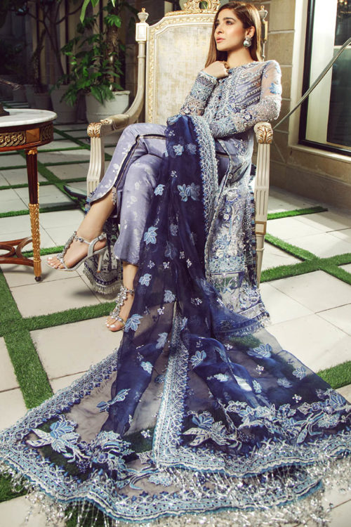 Wedding Collection by Maryam Hussain - Original Wedding Collection by Maryam Hussain Design Falak Party Wear Salwar Kameez and Salwar Suits in India