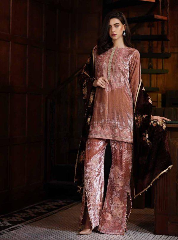 Charizma Signora Velvet 2019 - Original Charizma Signora Velvet 2019 – SN 07 velvet salwar suits