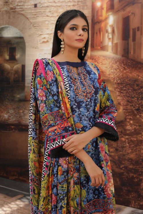 Rangreza Cotton - Original Cotton Salwar Kameez by Rangreza pakistani suits in delhi