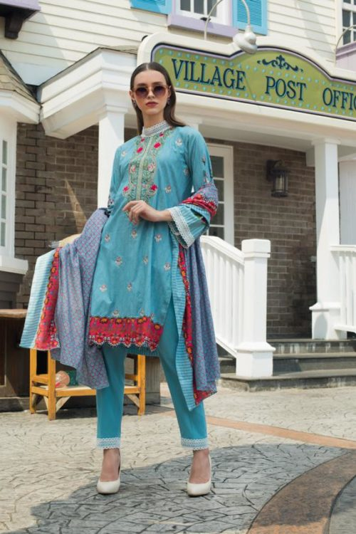 Sahil Cambric Salwar Suit 1B Sahil Cambric - Original pakistani suits in delhi