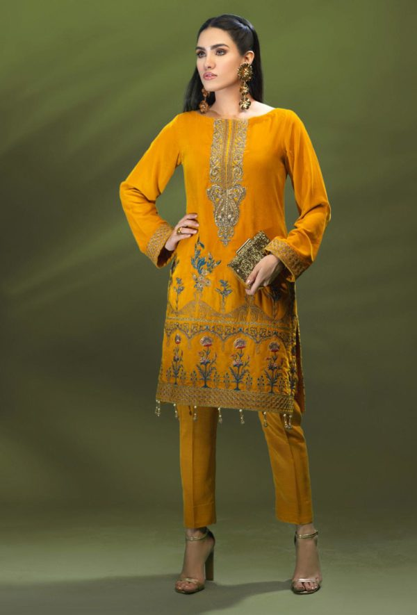 Azalea Velvet Party Kurti HOT – RELISTED / RESTOCKED