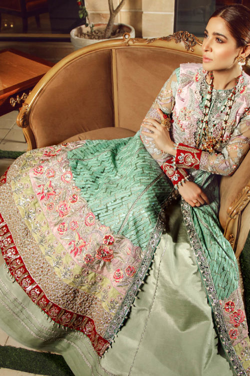 Wedding Collection by Maryam Hussain - Original Wedding Collection by Maryam Hussain Design Parisa Party Wear Salwar Kameez and Salwar Suits in India