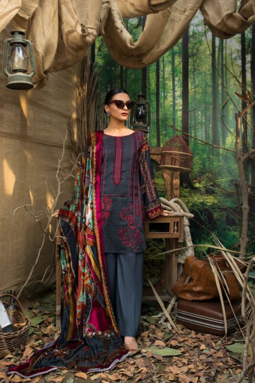 Maira Ahsan Embroidered Palachi - Original Maira Ahsan Embroidered Palachi MAP-6 [tag]
