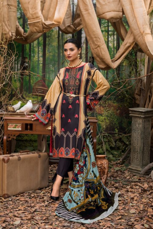 Maira Ahsan Embroidered Palachi - Original Maira Ahsan Embroidered Palachi MAP-8 [tag]