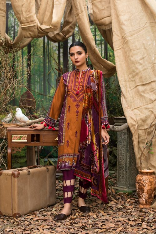 Maira Ahsan Embroidered Palachi - Original Maira Ahsan Embroidered Palachi MAP-9 [tag]