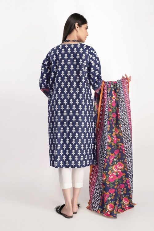 Khaadi Lawn 2020 - Original Shirt Dupatta [tag]