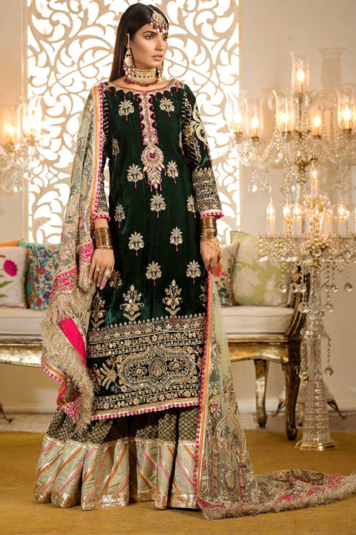 Noor by Saadia Asad Embroidered Wedding Festive 2019 - Original Noor by Saadia Asad Embroidered Wedding Festive 2019 – D6 Party & Festive Collection