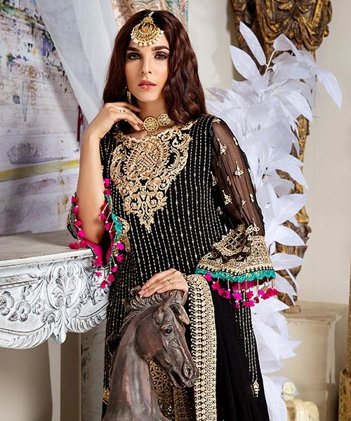 Shenyl Embroidered Chiffon Collection – S 01 Best Sellers Restocked Party & Festive Collection